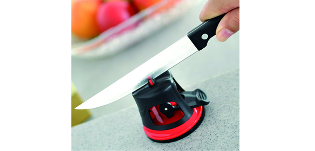 Vacuum Base Knife Sharpener